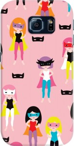 DailyObjects Super Hero Girls Case For Samsung Galaxy S6 Edge