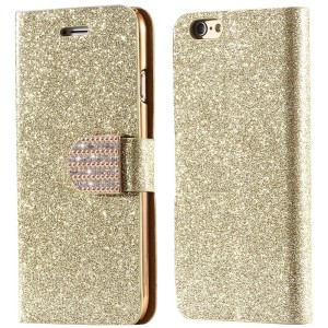 Excelsior Premium Girls Glitter Wallet Flip Cover Case