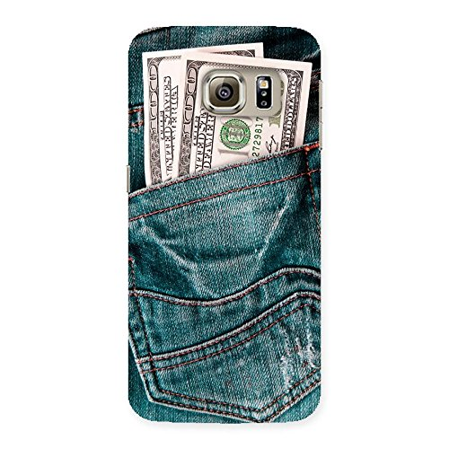 Jeans with Bucks Designs Back Case Cover for Samsung Galaxy S6 Edge
