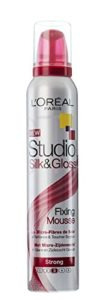 L'Oreal Paris Studio Line Silk & Gloss Fixing Mousse Strong