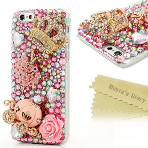 Mavis's Diary 3D Handmade Bling Crystal iPhone 6 case