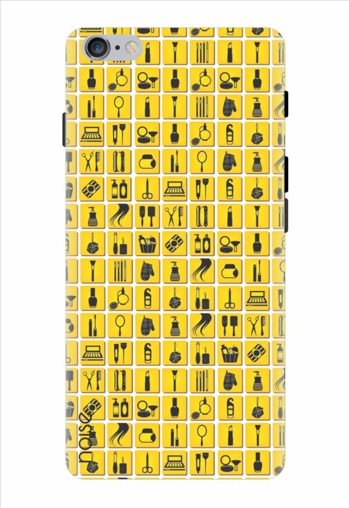 Noise All A Girl Wants-Yellow Printed Cover for Apple Iphone 6S Plus