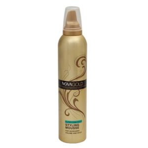 Nova gold hair styling mousse