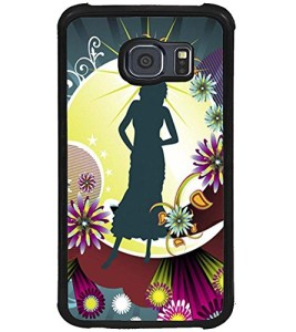 samsung galaxy s6 phone cases for girls. printvisa abstract girl case cover for samsung galaxy s6 edge phone cases girls
