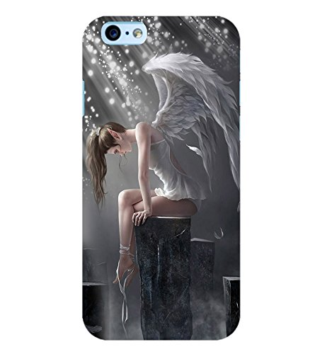 PrintVisa Angel Girl Case Cover for Apple iPhone 6S Plus