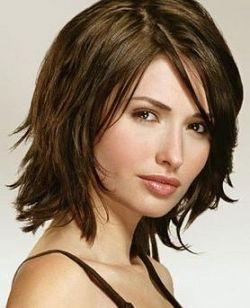 Short hair with black and brown