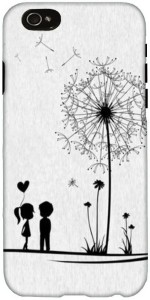 Snoogg Dandelions child love Designer Case Cover for iPhone