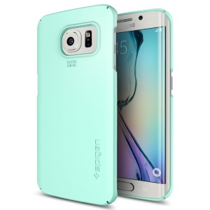 Spigen Galaxy S6 Edge Case Thin Fit Mint