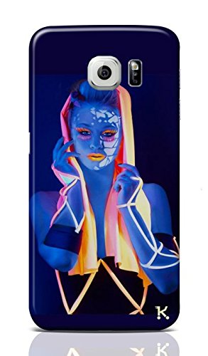 Women In Blue Mobile Cover for Samsung Galaxy S6 Edge