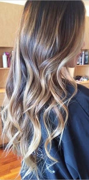 Best Ideas Fabulous Long Dark Brown Hair With Blonde