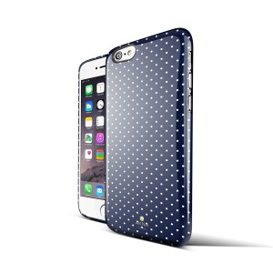 iPhone 6 Slim Girl Case with Polka Dots
