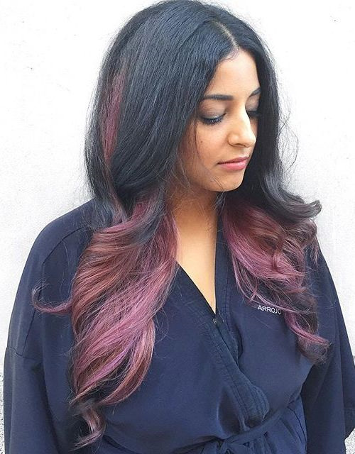 4-black-hair-with-burgundy-ombre