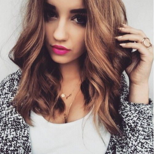 Hair Color Ideas For Wavy Hair