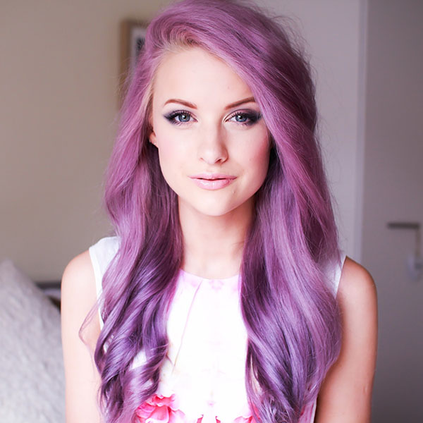 Cute-Purple-Hairstyle-Ideas-for-Long-Hair