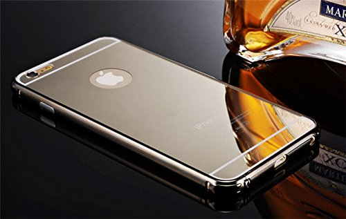 KARP Ultra-thin 24K Gold Plated Mirror Case Cover for iPhone 6 Plus