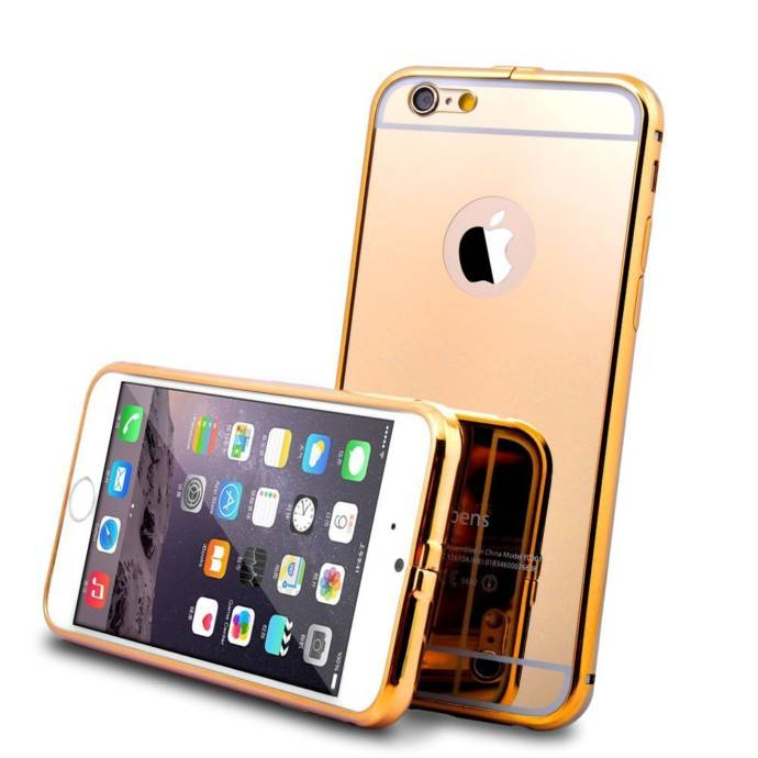 Kapa Luxury Mirror Effect Bumper Case Cover