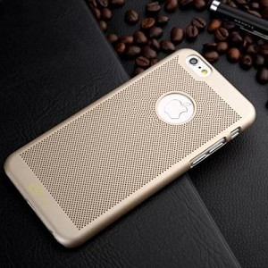 Loopee Heat Dissipation Back Case Coverin Gold