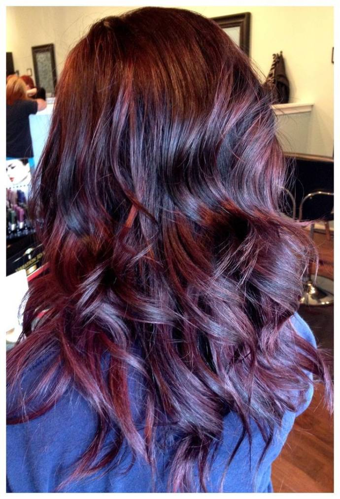 Naturally Red Hair Dye