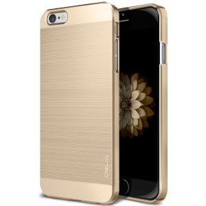 Obliq Dual Coated iPhone 6 case in gold