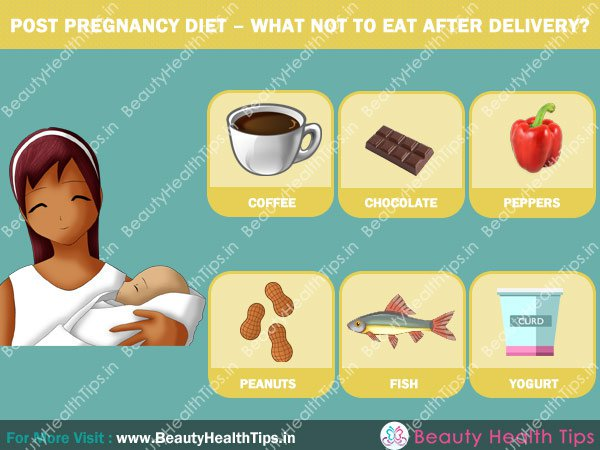 Post pregnancy diet what not to eat after delivery a ccuart Images