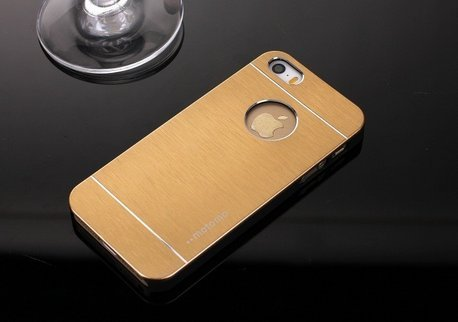 Saihan Motomo Back Cover for Iphone 6 Gold