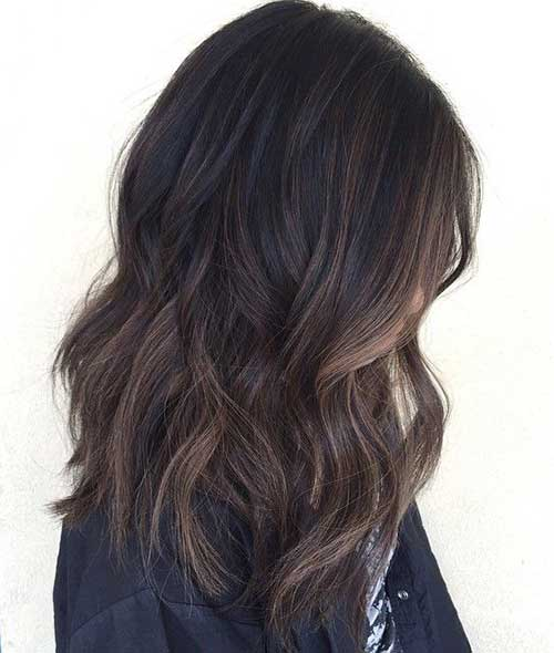 Top balayage hairstyles for black hair soft balayage highlight dark hair pmusecretfo Image collections