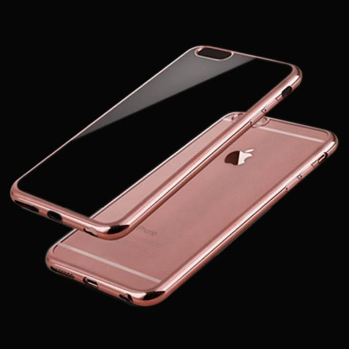 iSAVE New Luxury Rose Gold Back Case Cover