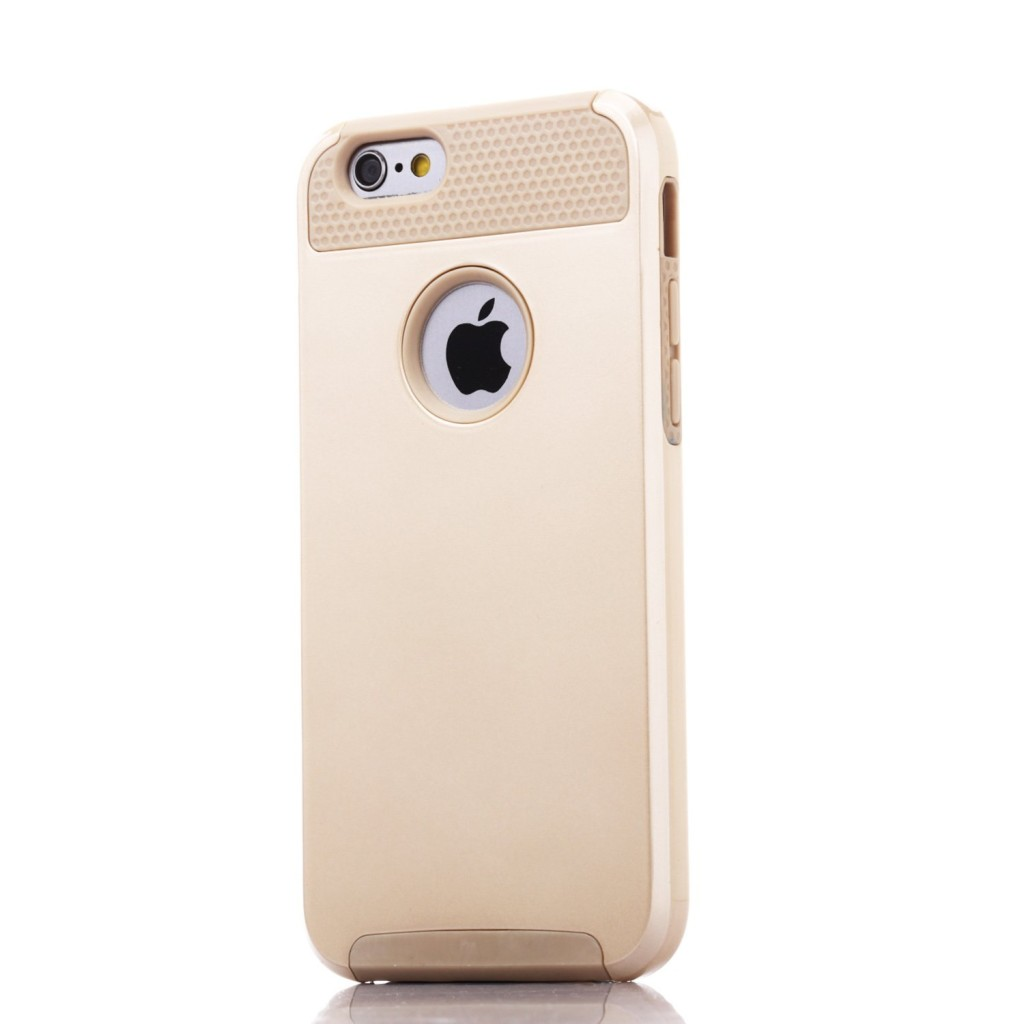 technext020 Gold Armor Case for iPhone 6S Plus