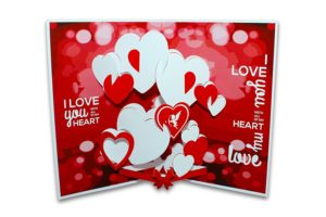 """""""100 reasons why I love you"""" cards"""