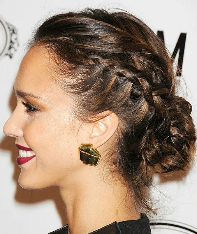 Swell Braid Hairstyles With Hair Highlights Hairstyles For Men Maxibearus