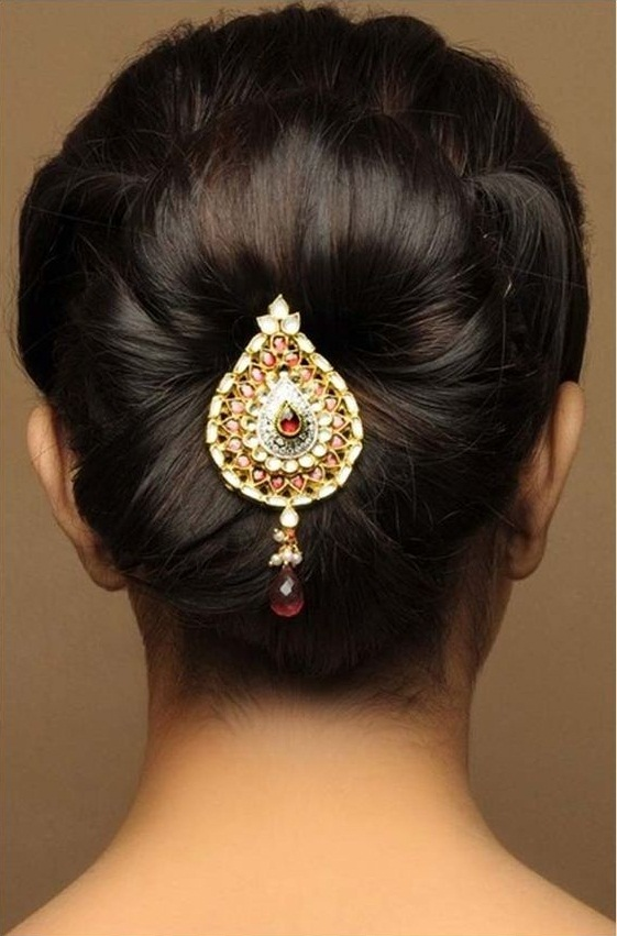 Wondrous Easy Simple Hairstyles For Silk Saree Short Hairstyles For Black Women Fulllsitofus