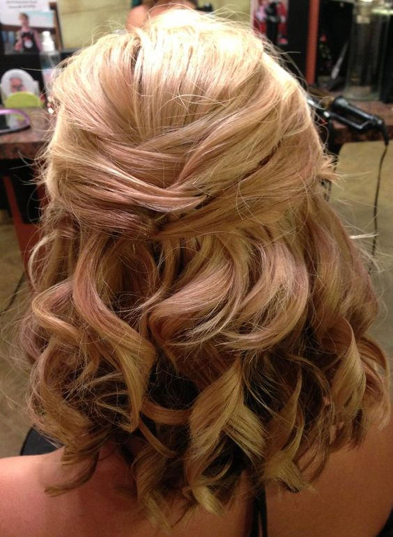 Shoulder Length Hair Prom Hairstyles Prom Hair Styles For Medium