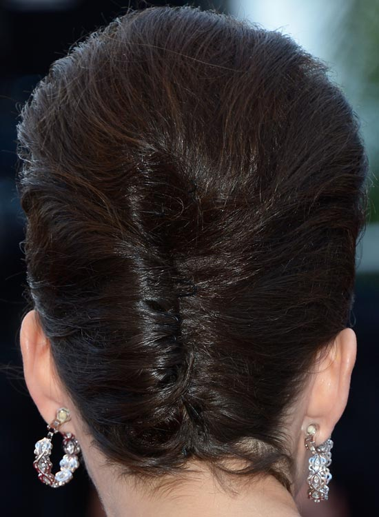 French Twist With Bouffant