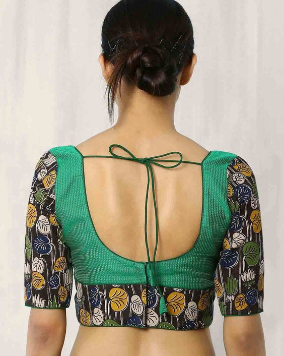 Best Blouse Designs With Patch Work