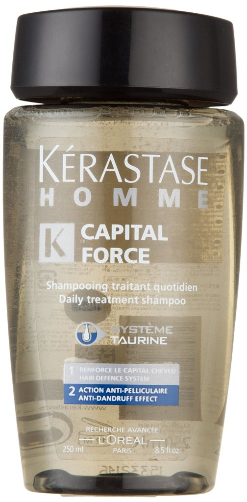 Kerastase Paris Capital Force Anti Dandruff Effect Mens Shampoo