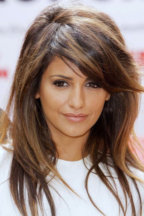 Hairstyles with golden brown highlights medium layered hairstyle with a bounce golden highlights pmusecretfo Gallery