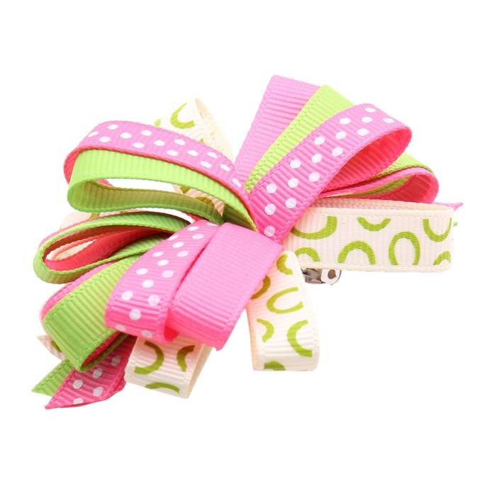 NeedyBeePink and Green Ribbon