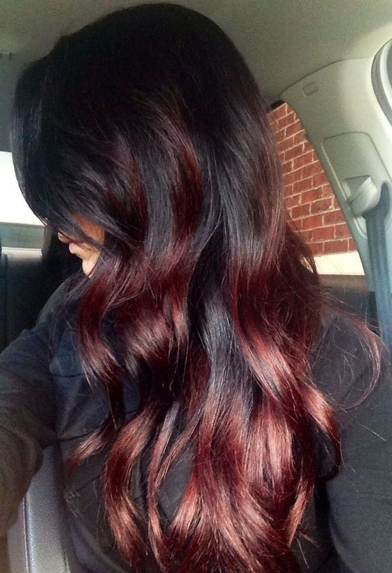 Hair color ideas for brunettes light brown red highlights with brunette hair colors pmusecretfo Choice Image