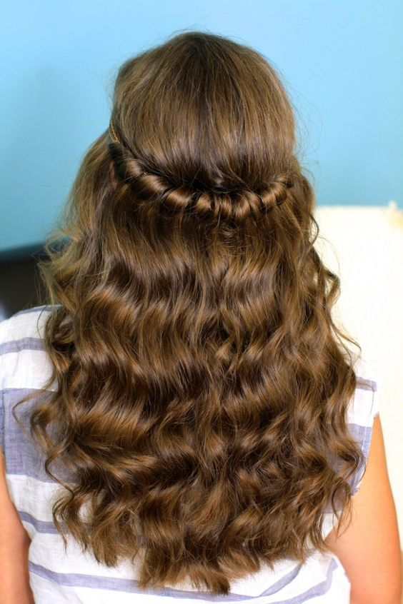 Easy hairstyles for college girls - Simple hair style ideas for college going girls