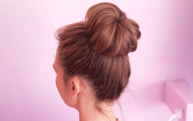 Simple Hair Buns For Sarees Lehengas To Style Up Your Looks