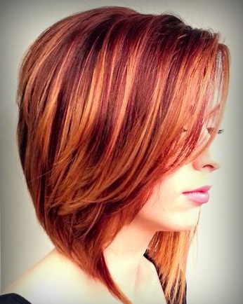 Stunning Red Fall Hair