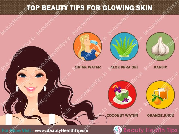 top tips for glowing skin