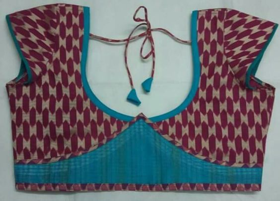 Patch Work Blouse Designs Designer Blouses Collection With Patch Work