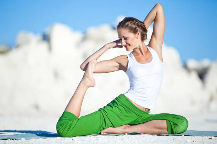 Yoga Poses For Glowing Skin