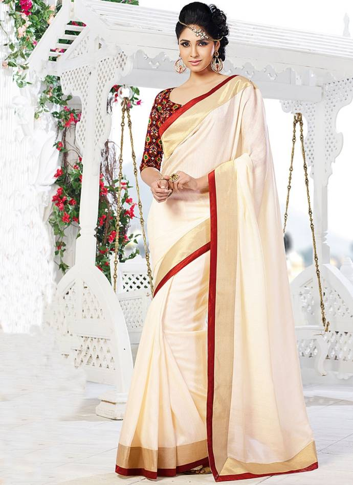 beneficial-off-white-raw-silk-saree