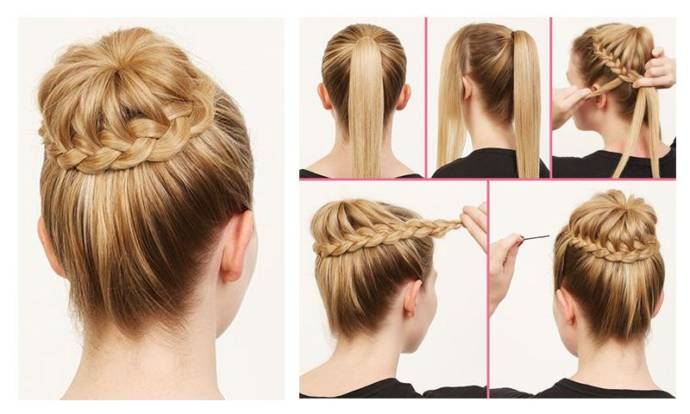 Easy Hairstyle Ideas For College Girls