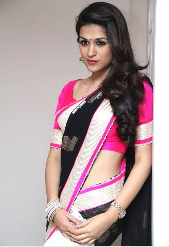 Open/Free Hairstyles For Long And Medium Hair - Open Hairstyles For Saree