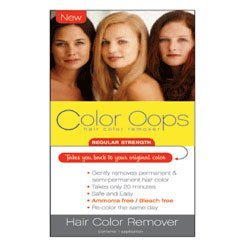 Color Oops Regular Strength Hair Color Remover