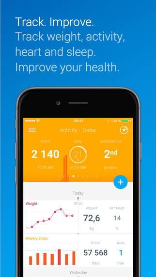 Health mate – Best health related IOS app