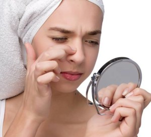 how to get pimples away in a day
